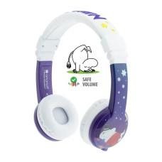 BuddyPhones Foldable Moomin Μωβ