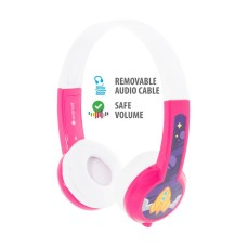 BuddyPhones Explore με μικρόφωνο Ροζ
